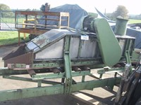 Sand aerator for belt conveyor, width 450 mm