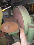 Sanding disk machine, table 730 mm x 300 mm