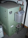 Furnace for carbon and sulphur
