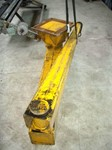 Hinged slewing crane for mounting under ceiling, ± 250 kg, SEPA