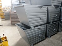 Stacking containers painted SB10-2, 1000 mm x 800  mm x  900 mm