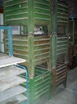 Stacking containers, 700 mm x 600 mm x 500 mm