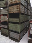Stacking containers 1000 mm x 800 mm x 480 mm, with flap