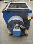 Grinding table, grate plate on the table 1000 mm x 1000 mm,, with exhauster